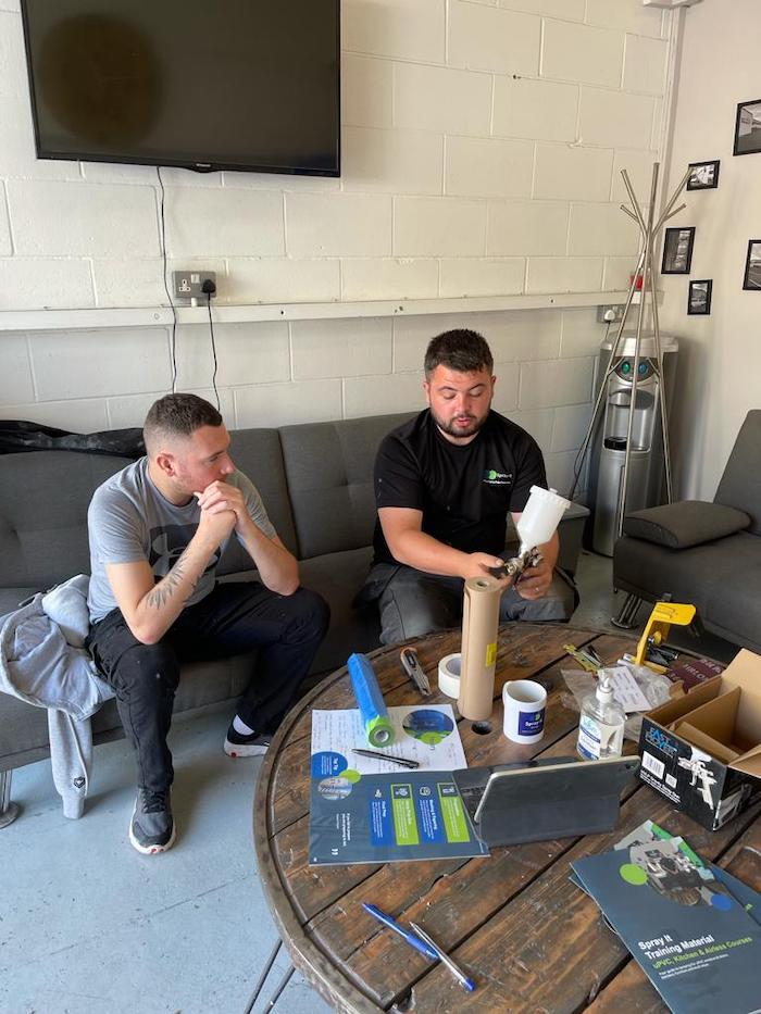 uPVC, Kitchen and Furniture spraying Courses in Rochdale