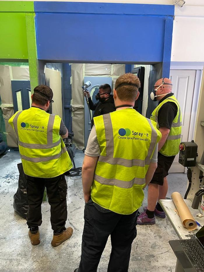uPVC spraying Courses in Bolton